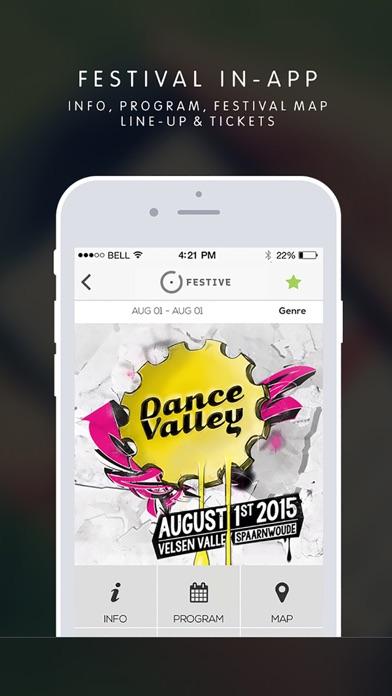 Festive iPhone app afbeelding 3