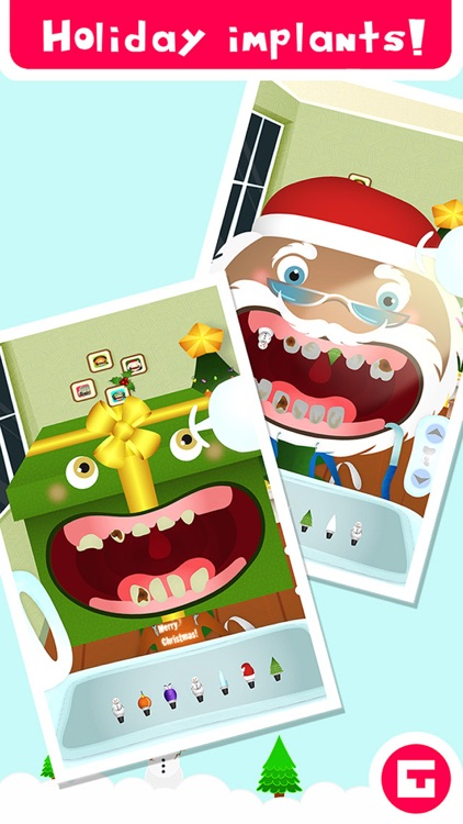 Tiny Dentist Christmas screenshot-3