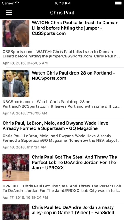 News Surge for Clippers Basketball News Free screenshot-4