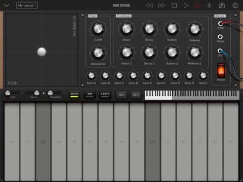 Midi Studio Pro Screenshots