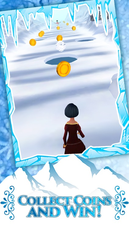 Frozen Princess Run 3D Infinite Runner Game For Girly Girls With New Fun Games FREE