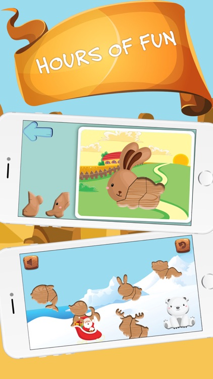 Animal Puzzle for Preschool Kids and Toddlers - Free screenshot-3
