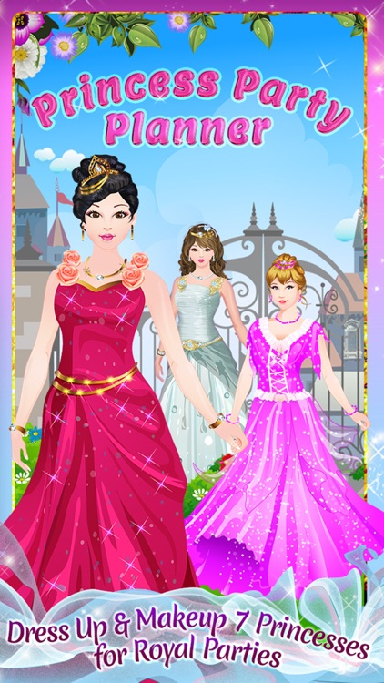 Princess Party Planner - Dress Up, Makeup & eCard Maker Game screenshot-4