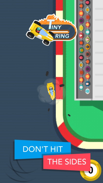 Tiny Ring : one-touch racing challenge