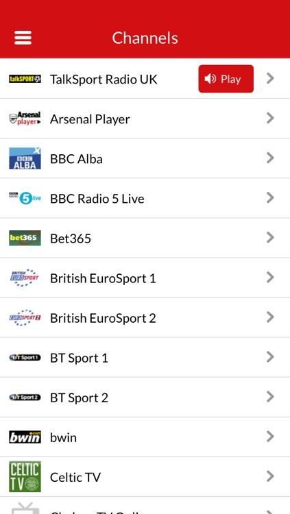 Live Football TV - Official Uk Broadcast Schedules & Scores screenshot-4