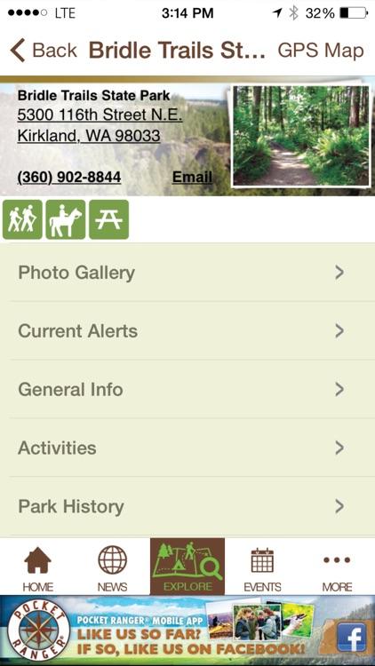 Washington State Parks Guide- Pocket Ranger® screenshot-4