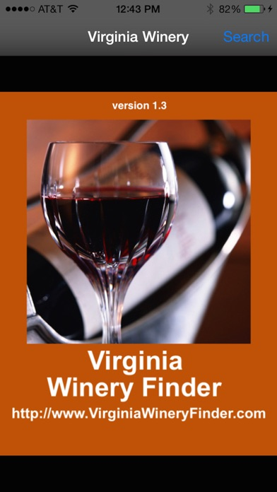 Virginia Winery Finder review screenshots