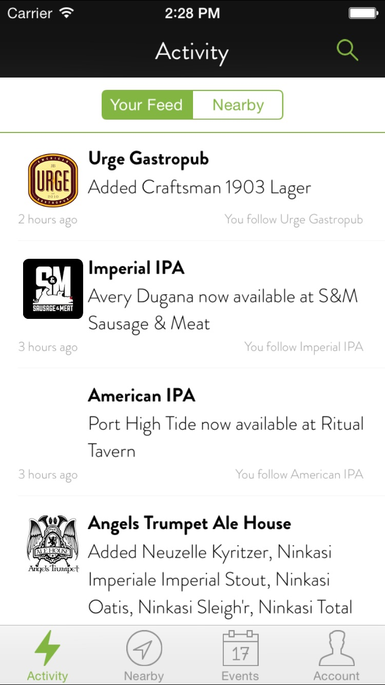 TapHunter - Find Beer, Wine, Spirits, & More