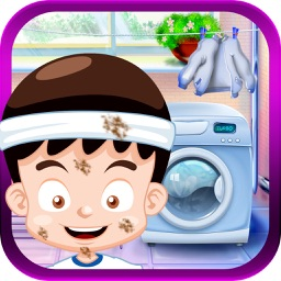 Baby Home Adventure – Free fun newborn baby care and washing cleaning game