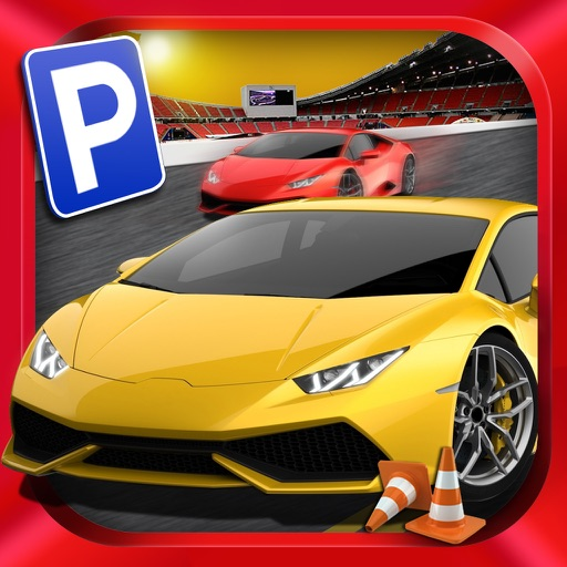 ``Car Parking Games Sports Steer Driving Impossible Challenge