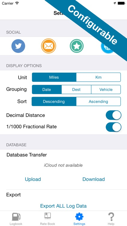 Mileage Expense Log 7 - Miles Tracker for Business, Tax, and Charity Deductions screenshot-4