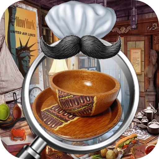 Messy Kitchen Hidden Object Games