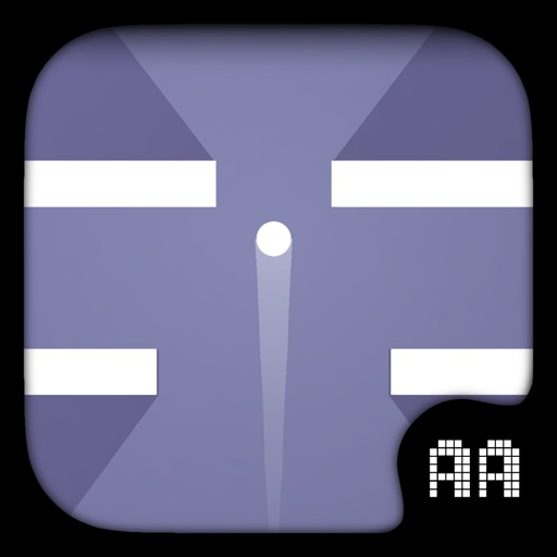 Impossible Dash Up - Touch to jump as far as you can & avoid the white tile