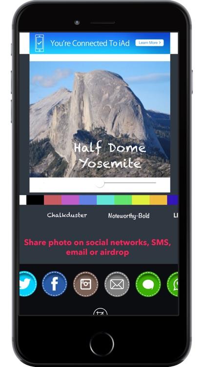 QuickPhotoTxt - add text to photos fast screenshot-3
