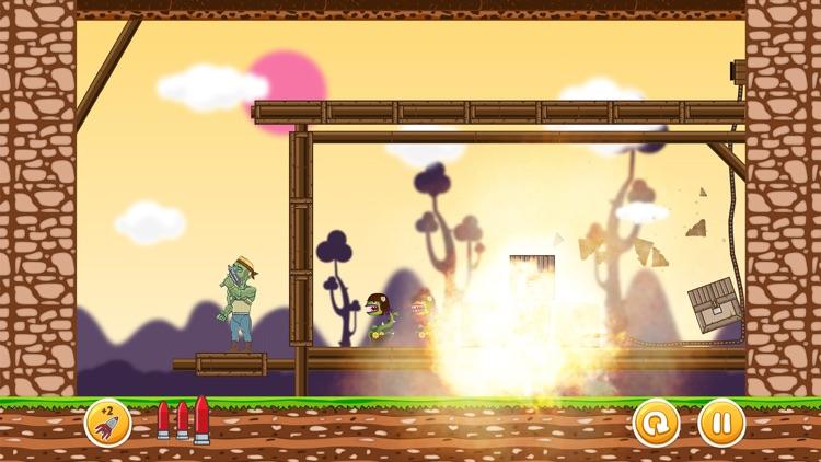 Undead vs. Plants War - The Living Dead Slayer - Fun Ricochet Killer Shooting Games for Free