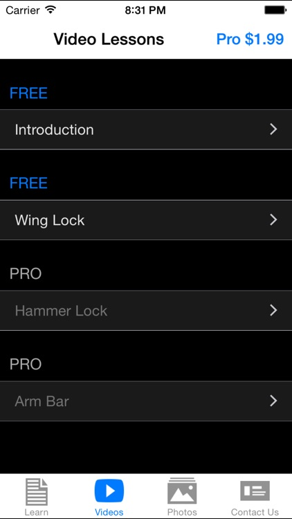 Large Arm Locks
