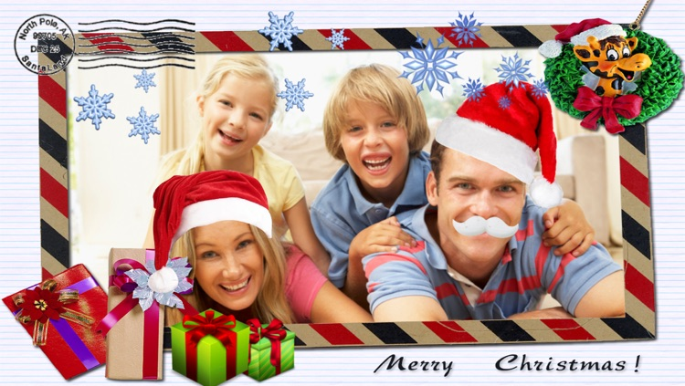 Xmas Photo - share your Christmas Greetings - lite
