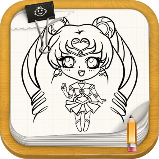 Learn To Draw Sailor Moon Version