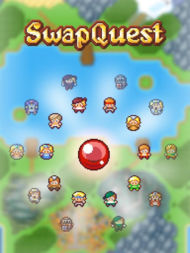 SwapQuest Screenshot
