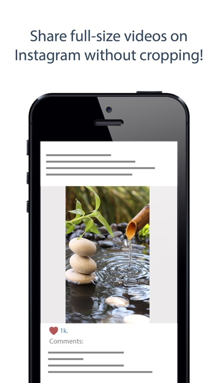 Square Video - Crop, Rotate, Zoom and Resize Videos for Vine and Instagram screenshot-3
