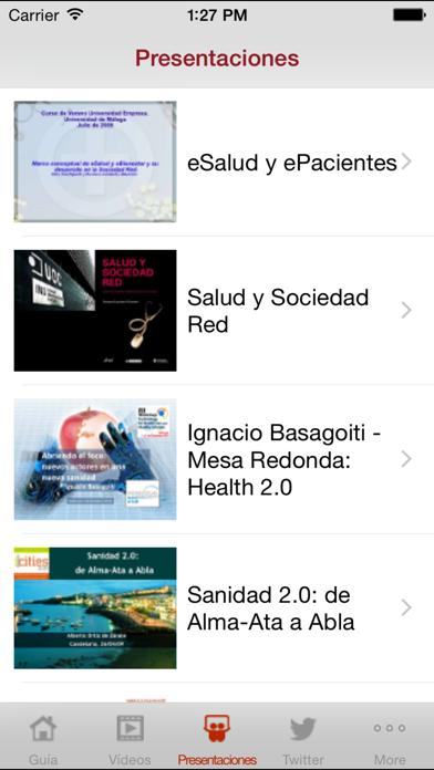 Salud 2.0 entre profesionales screenshot four