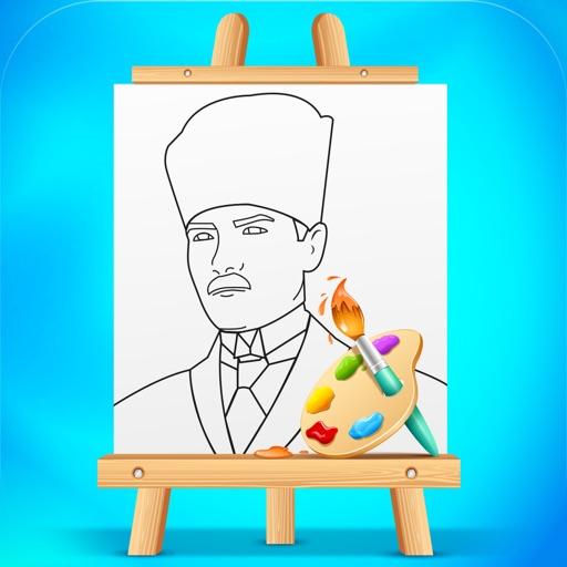 Atatürk Boyama Kitabı By Kurumsal Yayinlar