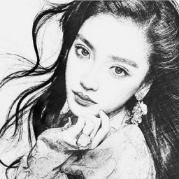Portrait Sketch HD - Filter Booth to Add Pencil & Cartoon Effect on Photo