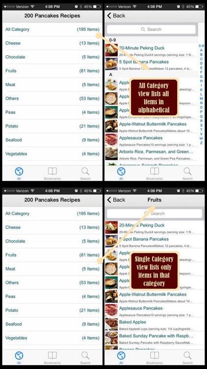 200 Pancakes Recipes screenshot-4