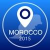 モロッコオフライン地図+シティガイドナビゲーター、観光名所と転送