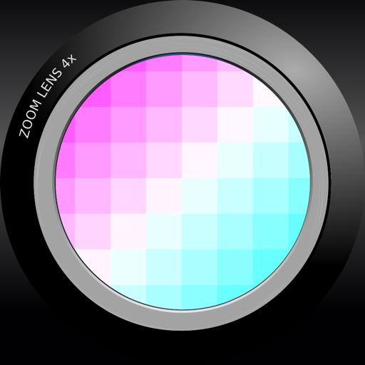 Belowrez - Pixel Camera iOS App