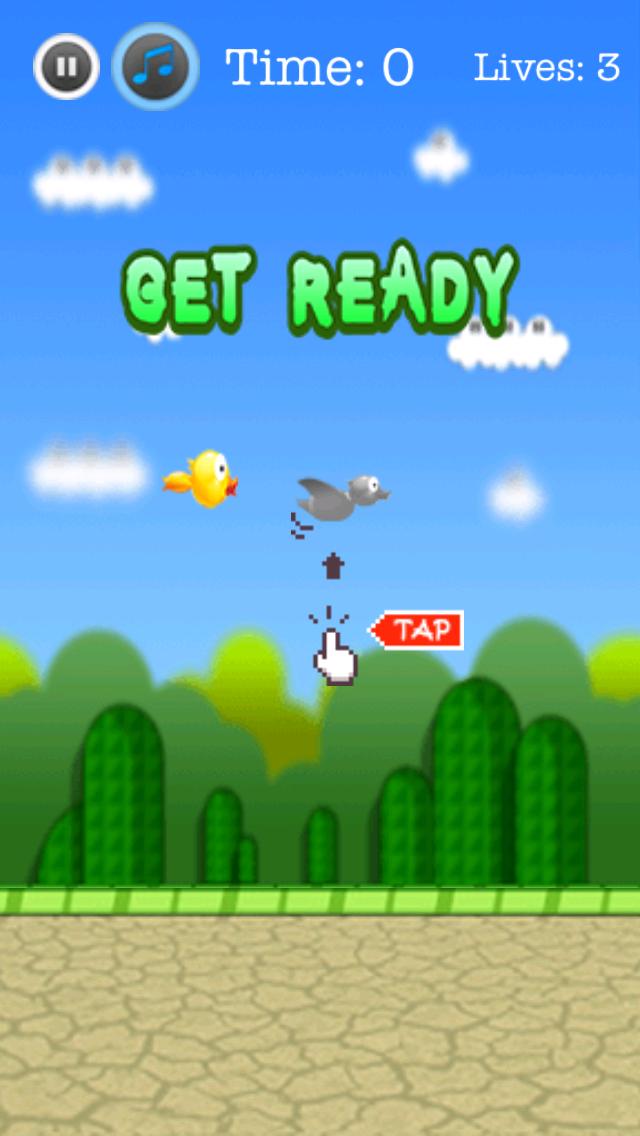 Lucky Duck Free- The Adventure of Duck Bird screenshot two