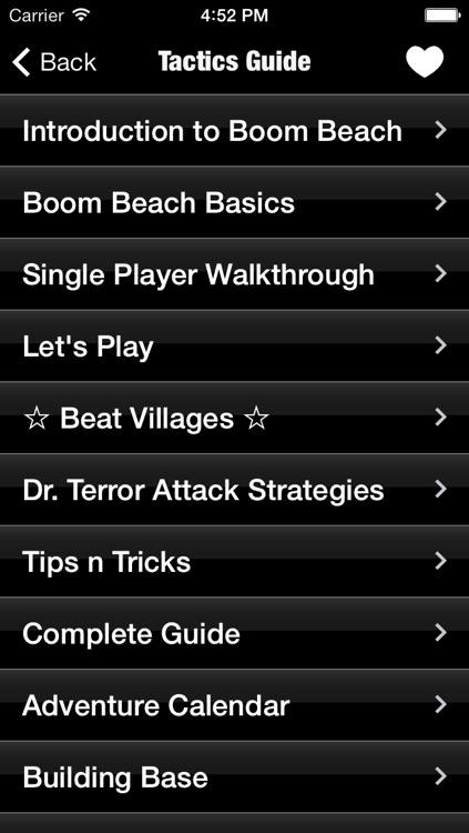 Massive Guide for Boom Beach