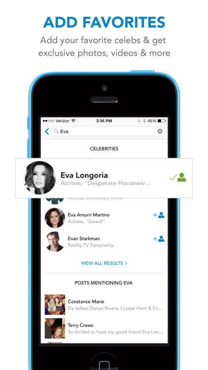 WhoSay - A social magazine by celebrities