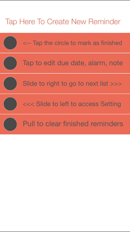Minimalistic Reminder: Reminders and Todo List with Alarm
