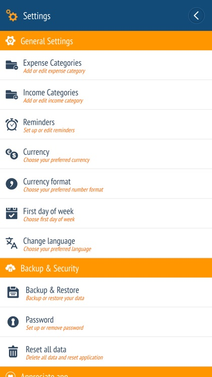 Expense manager - Money tracker screenshot-4