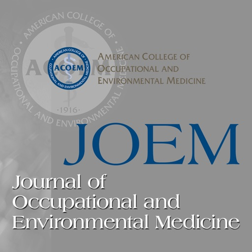 Journal of Occupational and Environmental Medicine