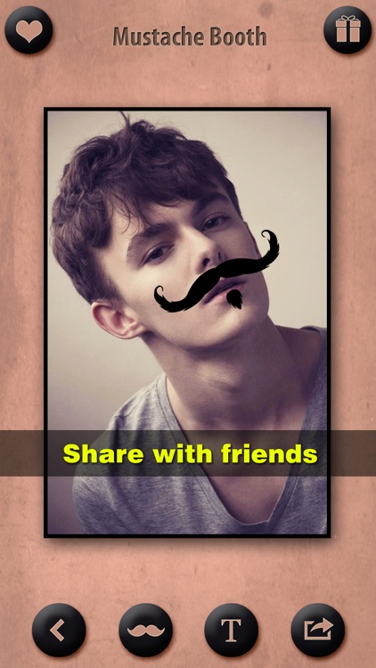 Mustache Booth Pro - Photo Editor + Sticker Maker: Grow & Morph a Hilarious Beard on Yr Face screenshot-4