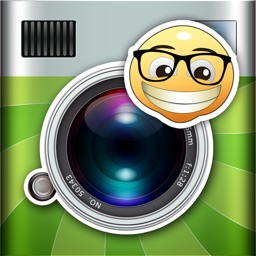 Pic and Smile - Add fun wallpapers and stickers to your photos by just smiling