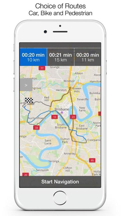 Michigan Offline Maps & Offline Navigation screenshot-3