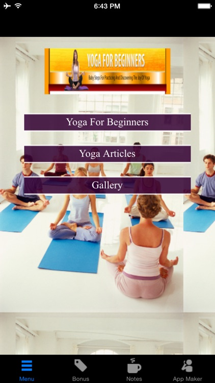 Yoga For Beginners:Baby Steps for Practicing and Discovering The Joy of Yoga