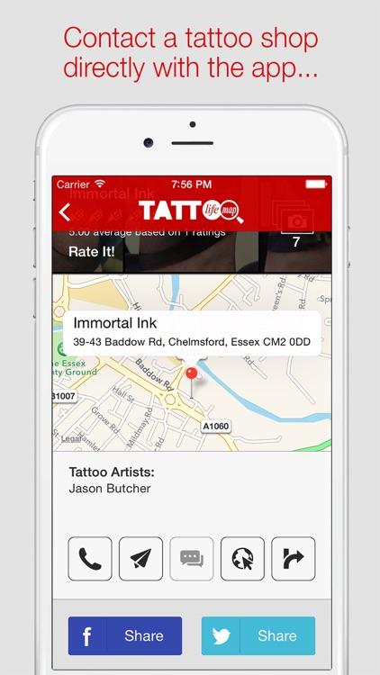Tattoo Life Map screenshot-4