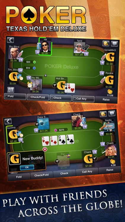 Texas HoldEm Poker Deluxe screenshot-3