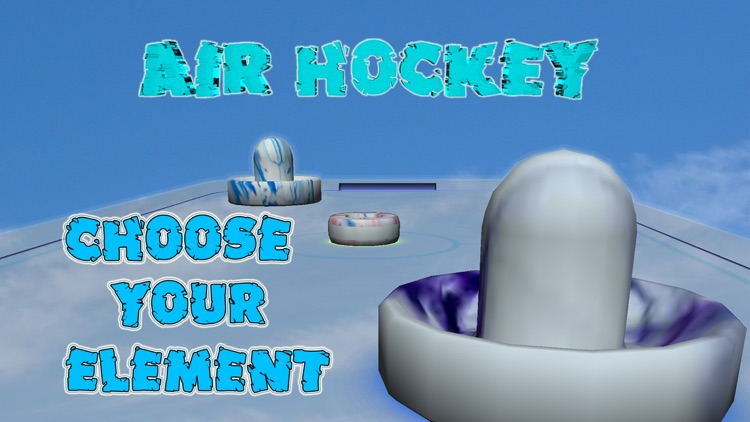 Air Hockey - War of Elements screenshot-0