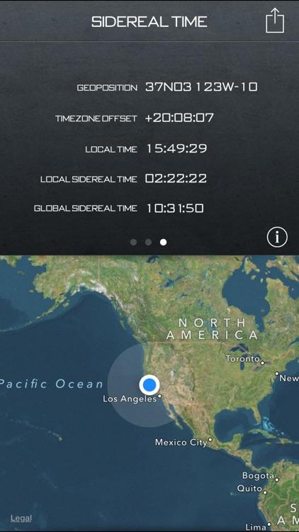 Star Clock (Universal) – Sidereal Time screenshot-3