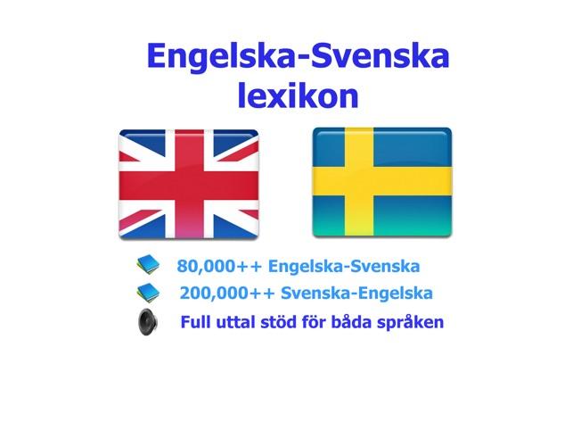svenska till engelska