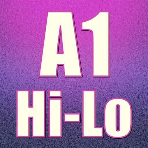 A1 HiLo Card Rivals Mania Pro - world casino gambling card game icon