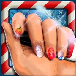 Christmas Nails Salon