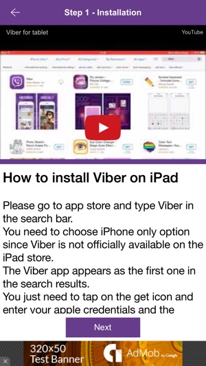 How to Install Viber on iPad on the App Store