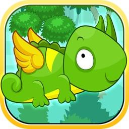 Flying Lizard Saga - Bird Eating Gecko Frenzy (Free)