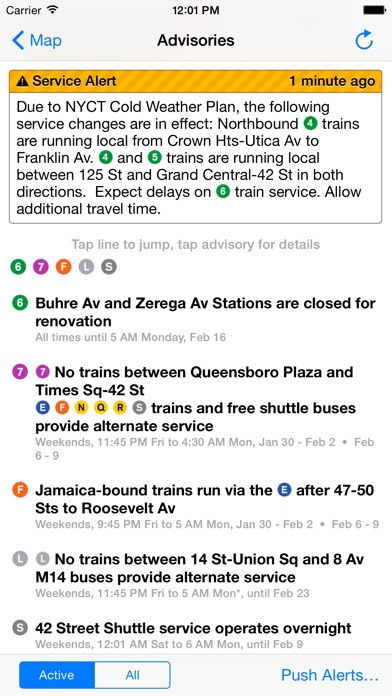 iTrans NYC Subway screenshot1